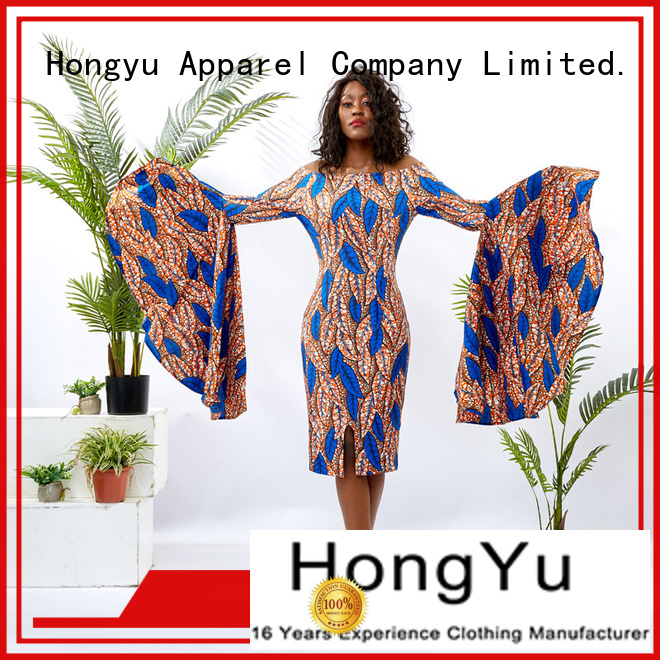 HongYu Apparel african dresses for girls off reception