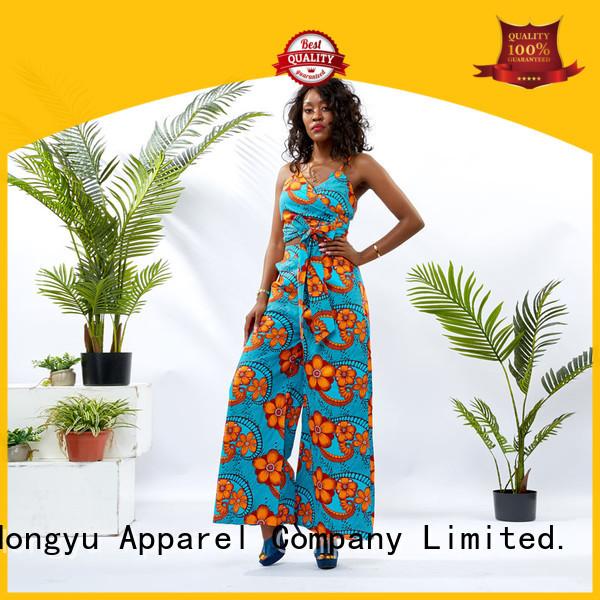 HongYu Apparel 2 piece dress set design africa