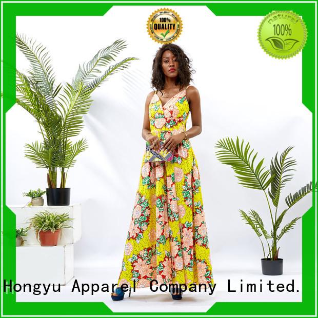 HongYu Apparel oem midi dresses for women women mall