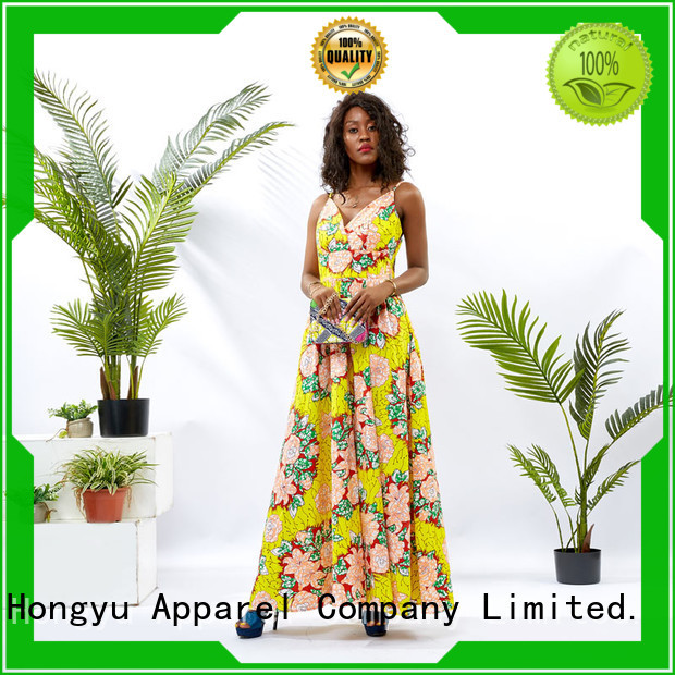 HongYu Apparel oem midi dresses for women women mall