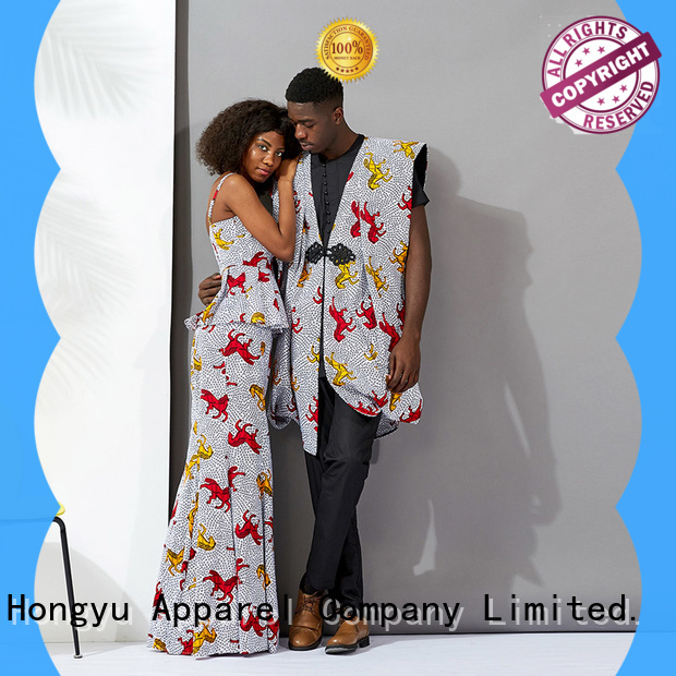 HongYu Apparel couple clothes wear ladies