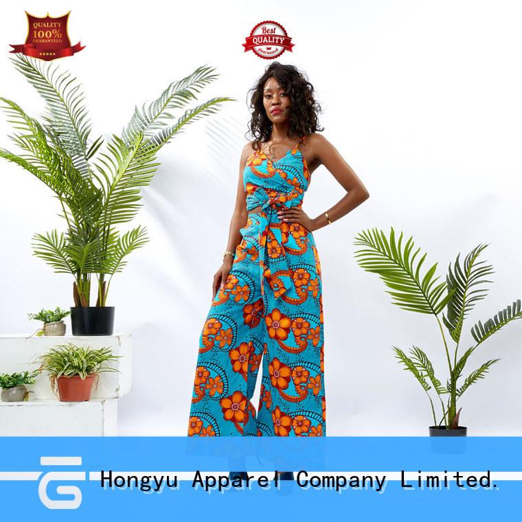 HongYu Apparel two piece dress set girls women