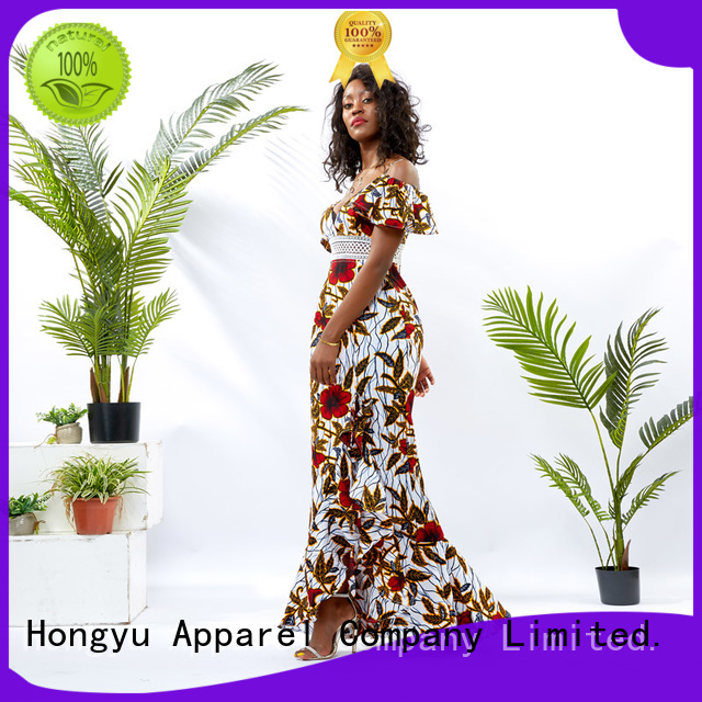 print summer maxi dresses women africa
