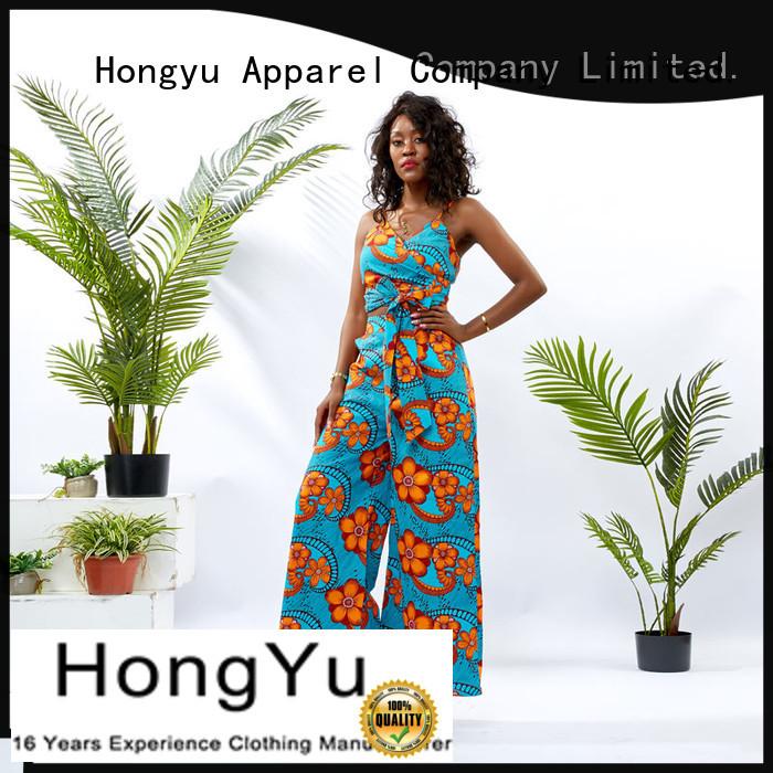 HongYu Apparel two piece long dresses skirt travel