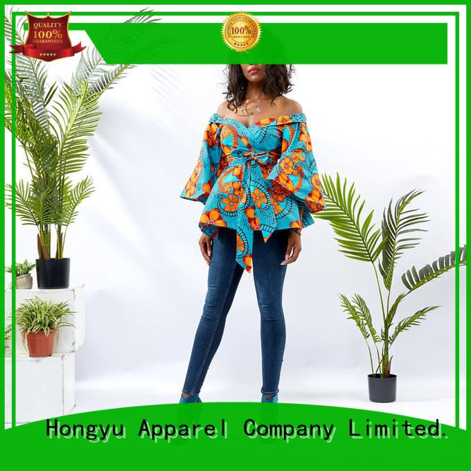 Wholesale Women Off Shoulder Wrap Top DH046