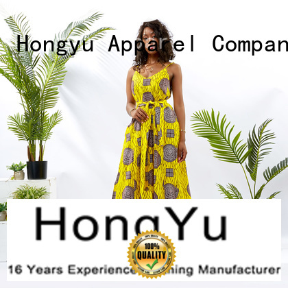 HongYu Apparel party maxi dresses off mall