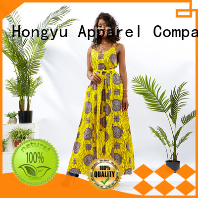 lace african long dresses designs floor africa HongYu Apparel