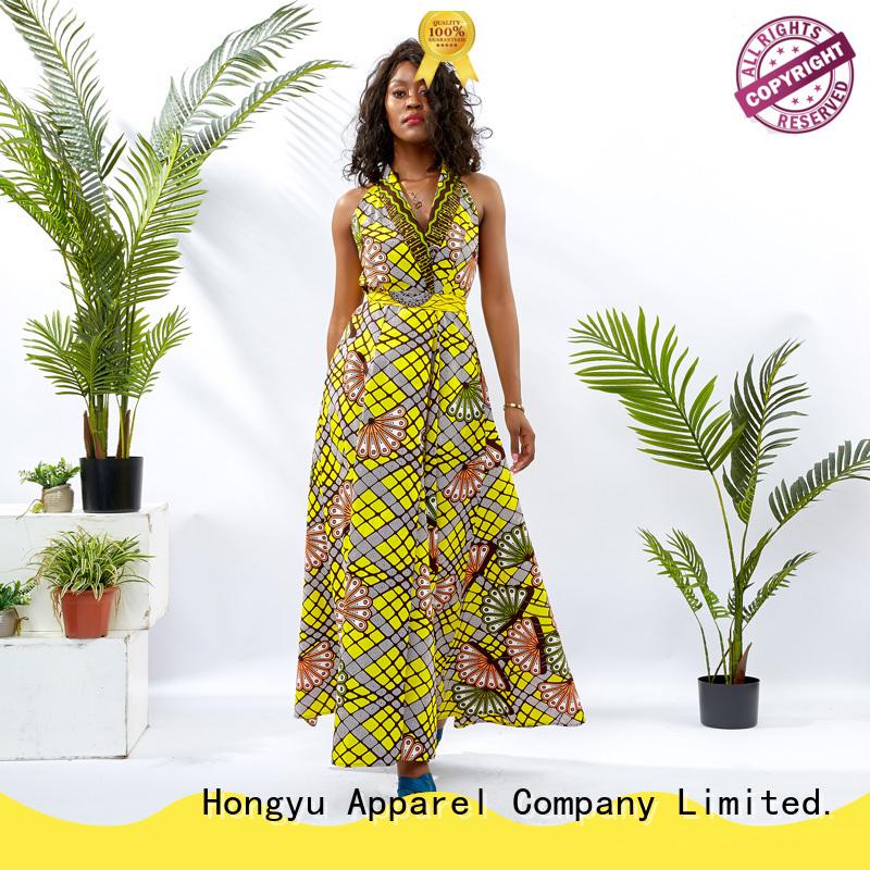 HongYu Apparel african dresses women reception