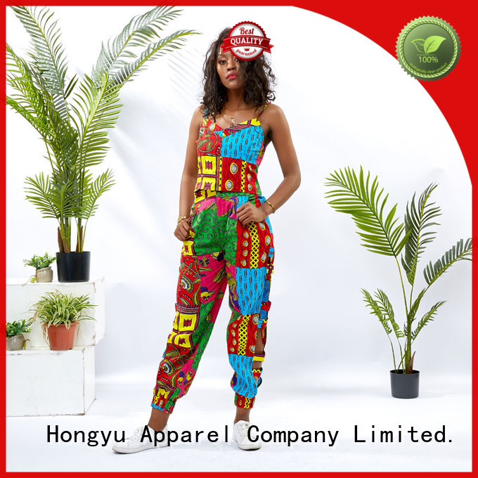HongYu Apparel 2 piece dress women africa