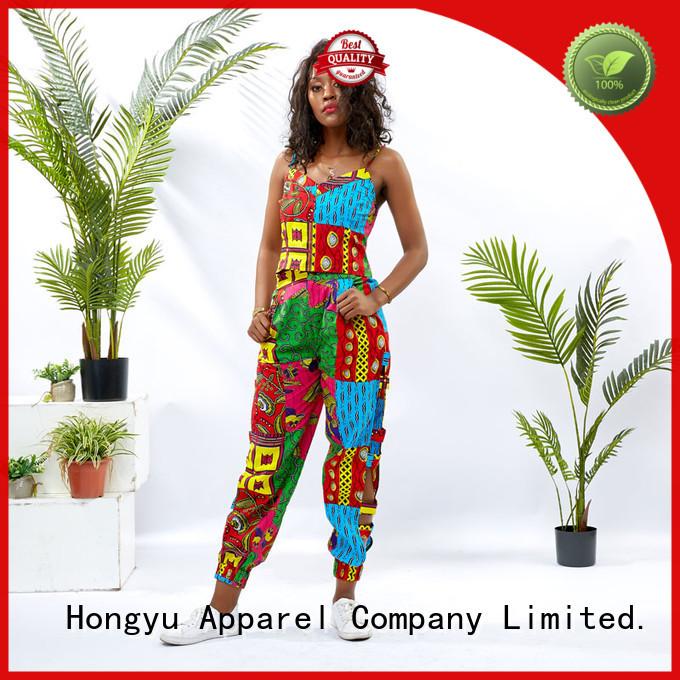 HongYu Apparel 2 piece dress women africa