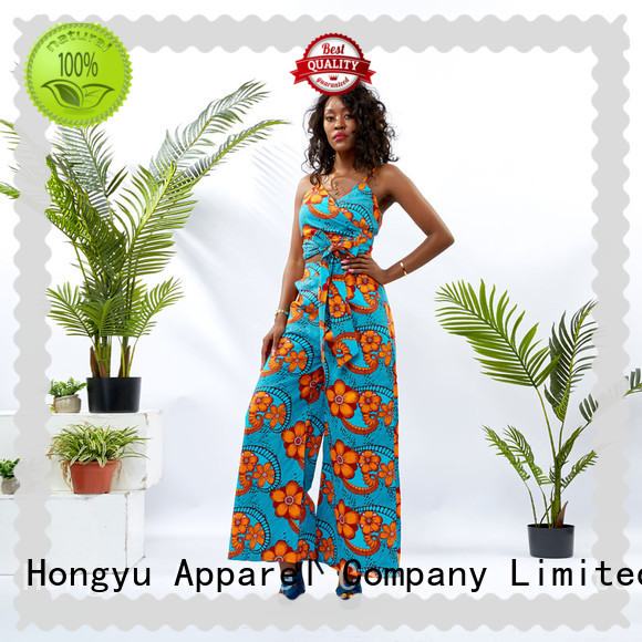 HongYu Apparel two piece dresses design travel