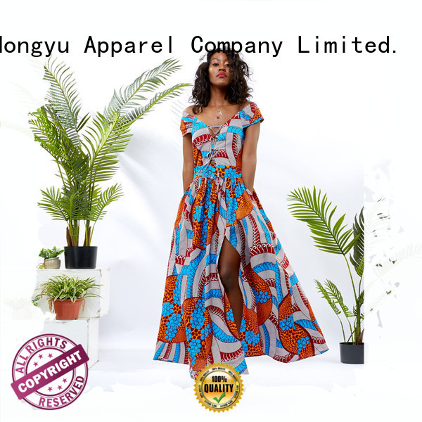 HongYu Apparel two beautiful dresses for ladies women africa