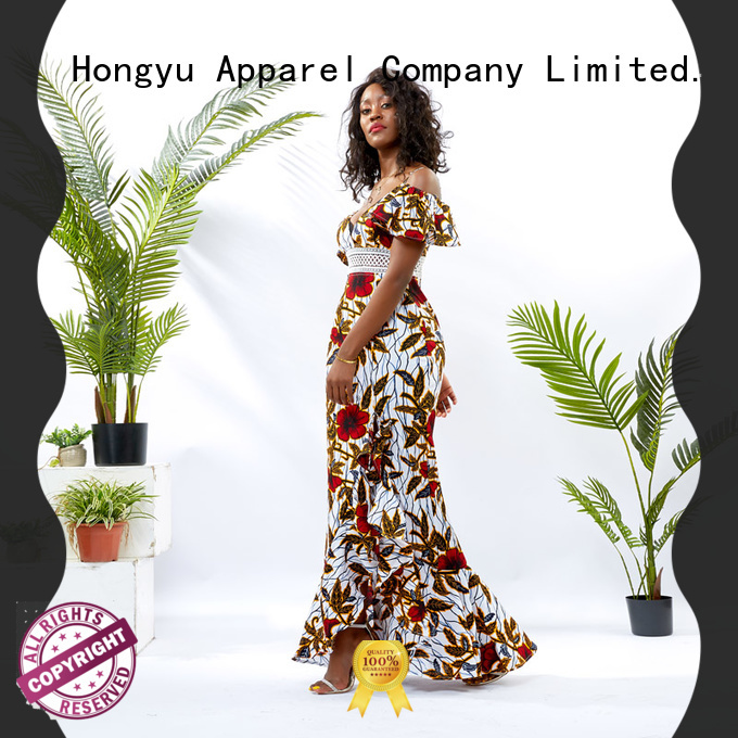 HongYu Apparel african print dresses off mall