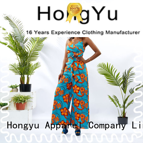 HongYu Apparel two piece short set girls women