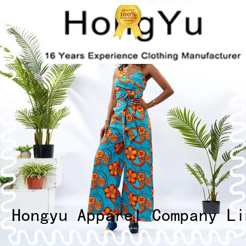HongYu Apparel two piece short set girls women