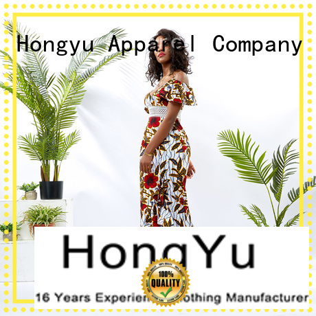 HongYu Apparel latest african fashion dresses floor africa