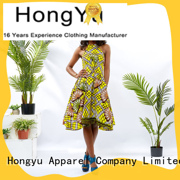 HongYu Apparel beautiful dresses for ladies off africa