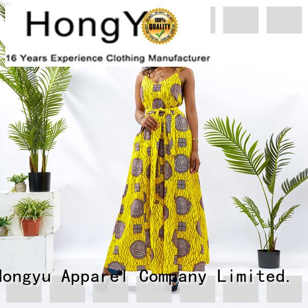HongYu Apparel wholesale dress women mall