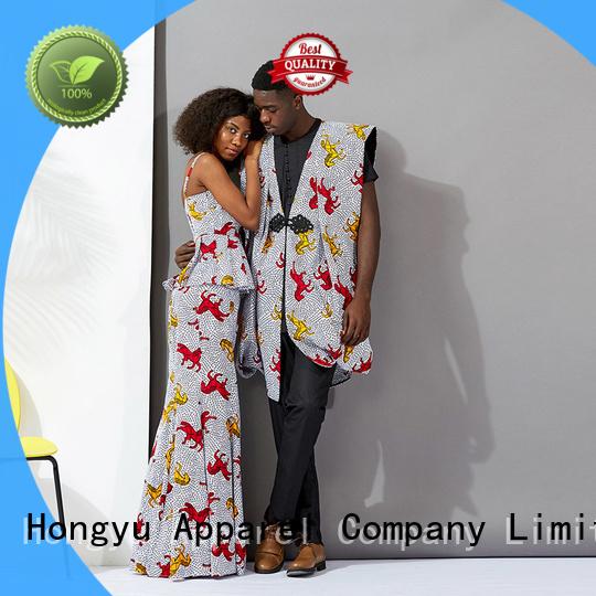 HongYu Apparel couple tee shirts wear men