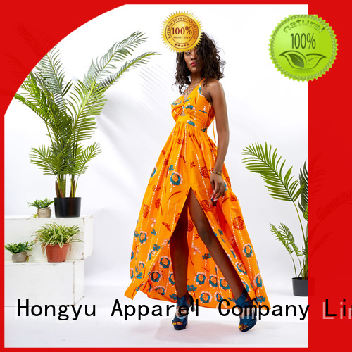 HongYu Apparel casual dresses floor mall
