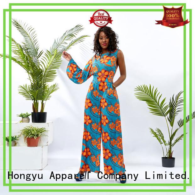 HongYu Apparel customize formal romper romper women