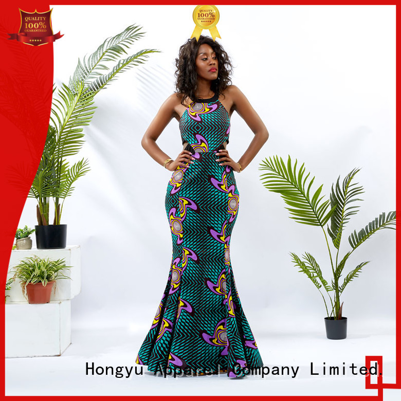 HongYu Apparel african fashion dresses floor mall
