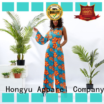 HongYu Apparel oem classy jumpsuits for women travel