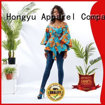 HongYu Apparel top pretty tops for ladies africa