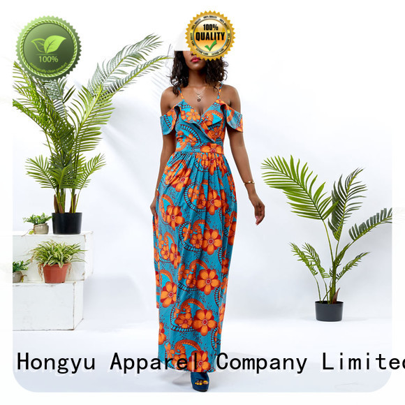 HongYu Apparel two modest dresses for women shoulder mall