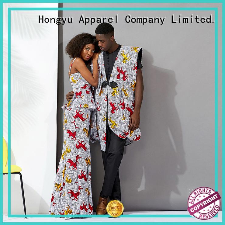HongYu Apparel couple clothes design men