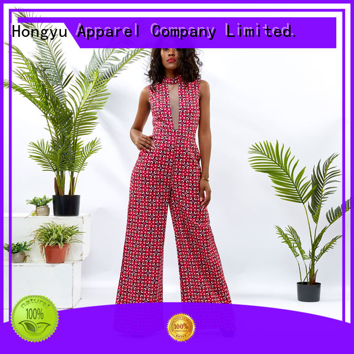 HongYu Apparel holiday jumpsuits romper women
