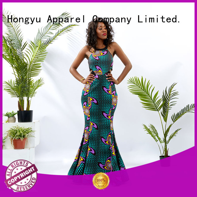 HongYu Apparel classy dresses shoulder mall