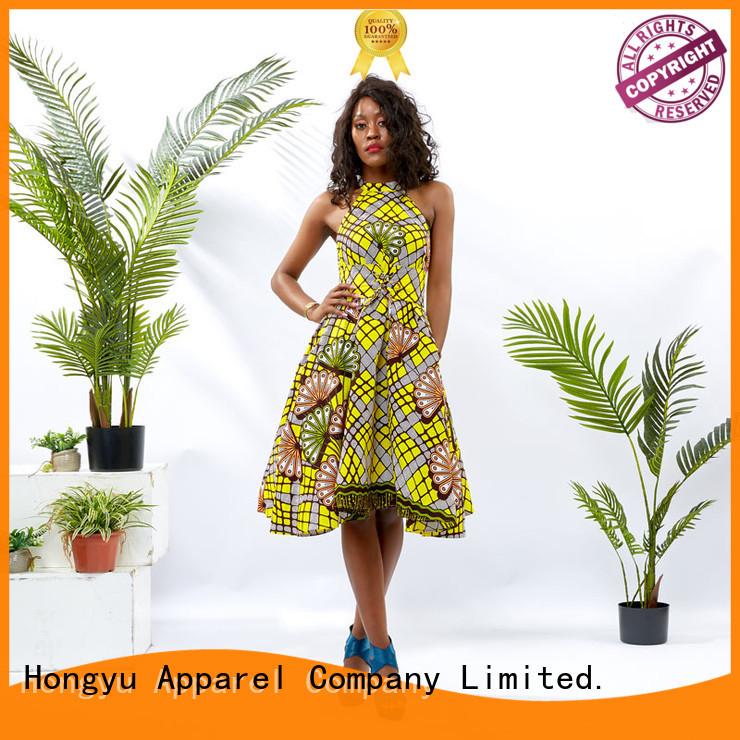 HongYu Apparel long latest african fashion dresses women mall