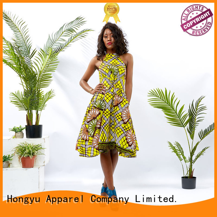 HongYu Apparel long latest african fashion dresses women mall
