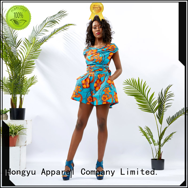 HongYu Apparel holiday jumpsuits service africa