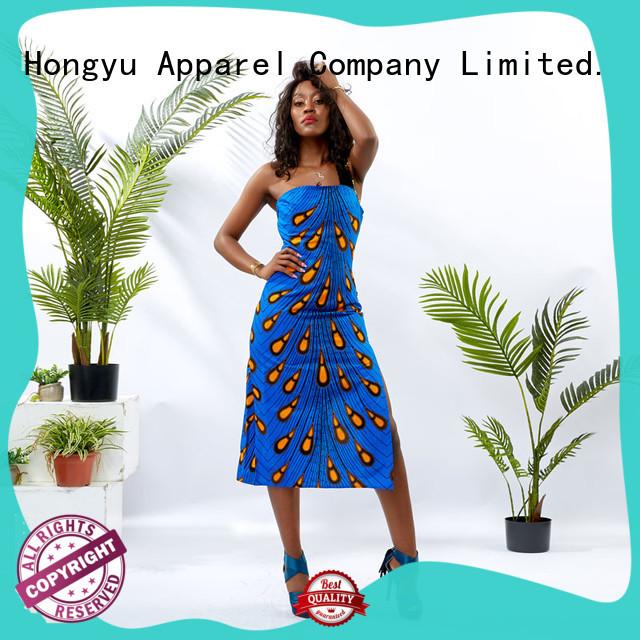 HongYu Apparel floral bodycon maxi dress floor reception