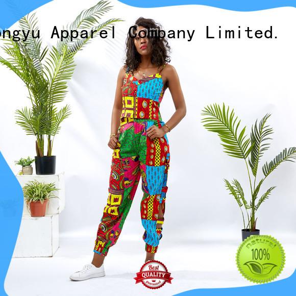 HongYu Apparel african two piece dress skirt travel