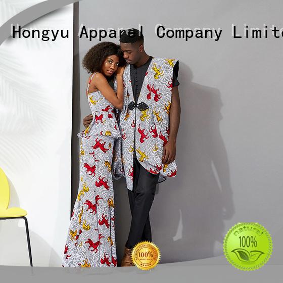 HongYu Apparel couple t shirt design wear men