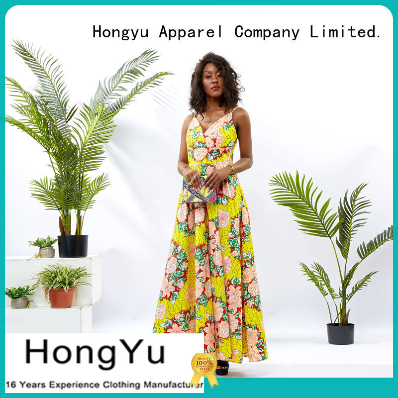 oem floral bodycon dress women reception