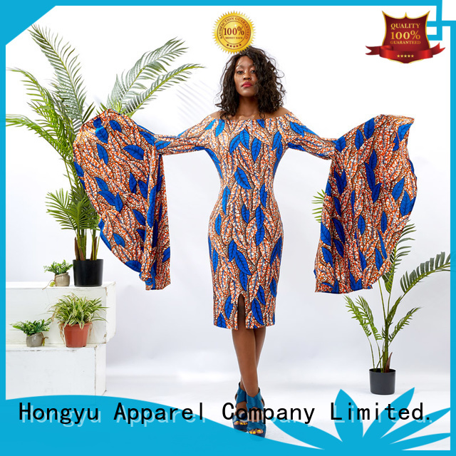 HongYu Apparel beautiful dresses for ladies floor africa