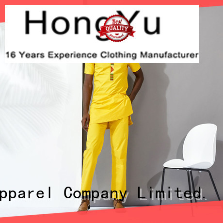 men's apparel work HongYu Apparel
