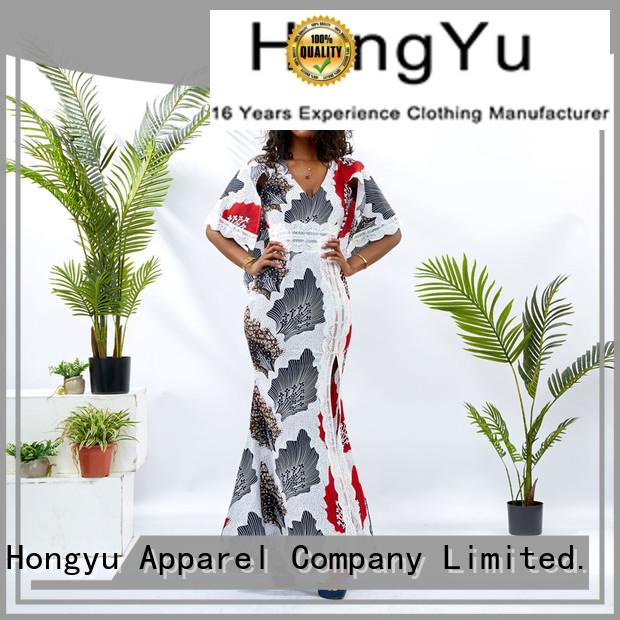 HongYu Apparel stylish dress for women off reception