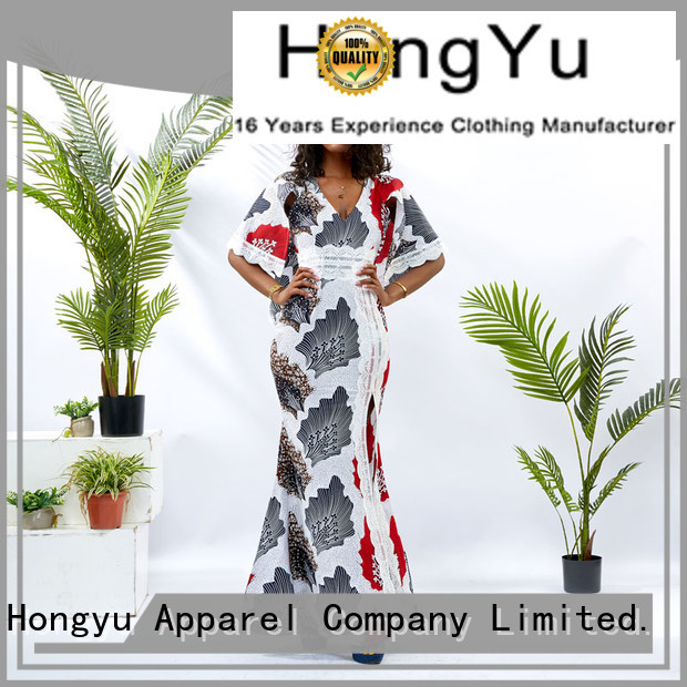 HongYu Apparel stylish dress for women off reception