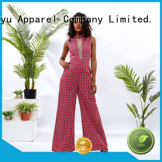 HongYu Apparel short sleeve jumpsuit romper africa