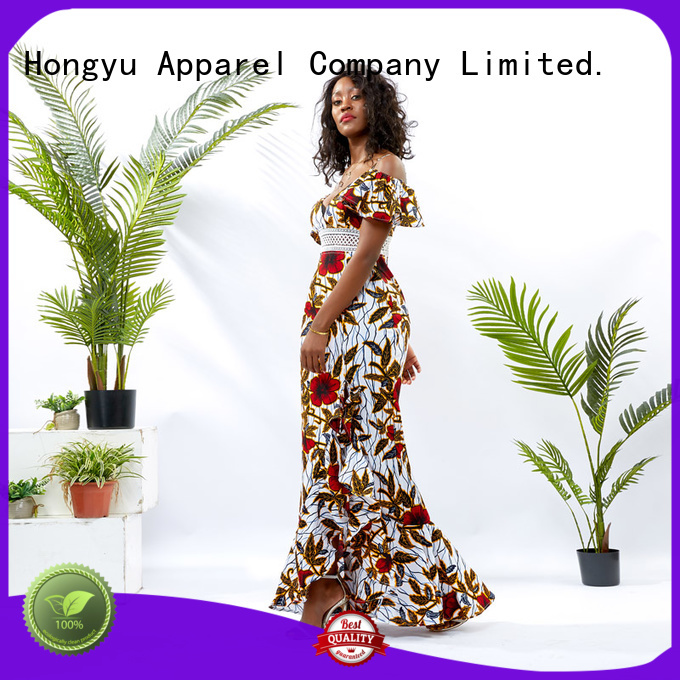 HongYu Apparel bodycon maxi dress floor mall