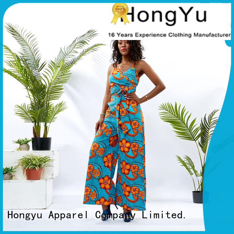 HongYu Apparel 2 piece dress set design women
