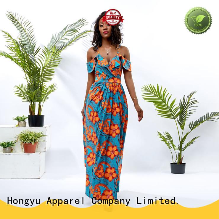 HongYu Apparel long trendy dresses women mall