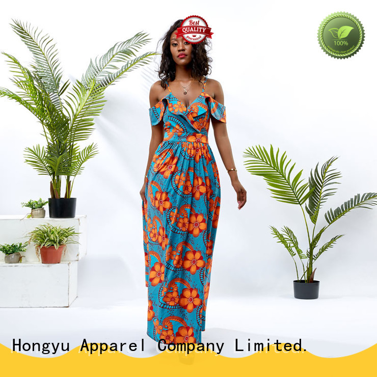 HongYu Apparel long trendy dresses women mall