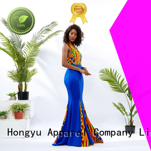 HongYu Apparel lace bodycon maxi dress floor reception