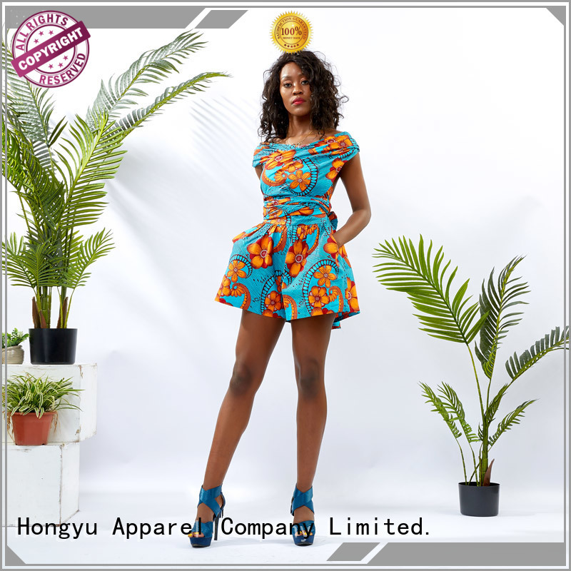 HongYu Apparel holiday jumpsuits design africa